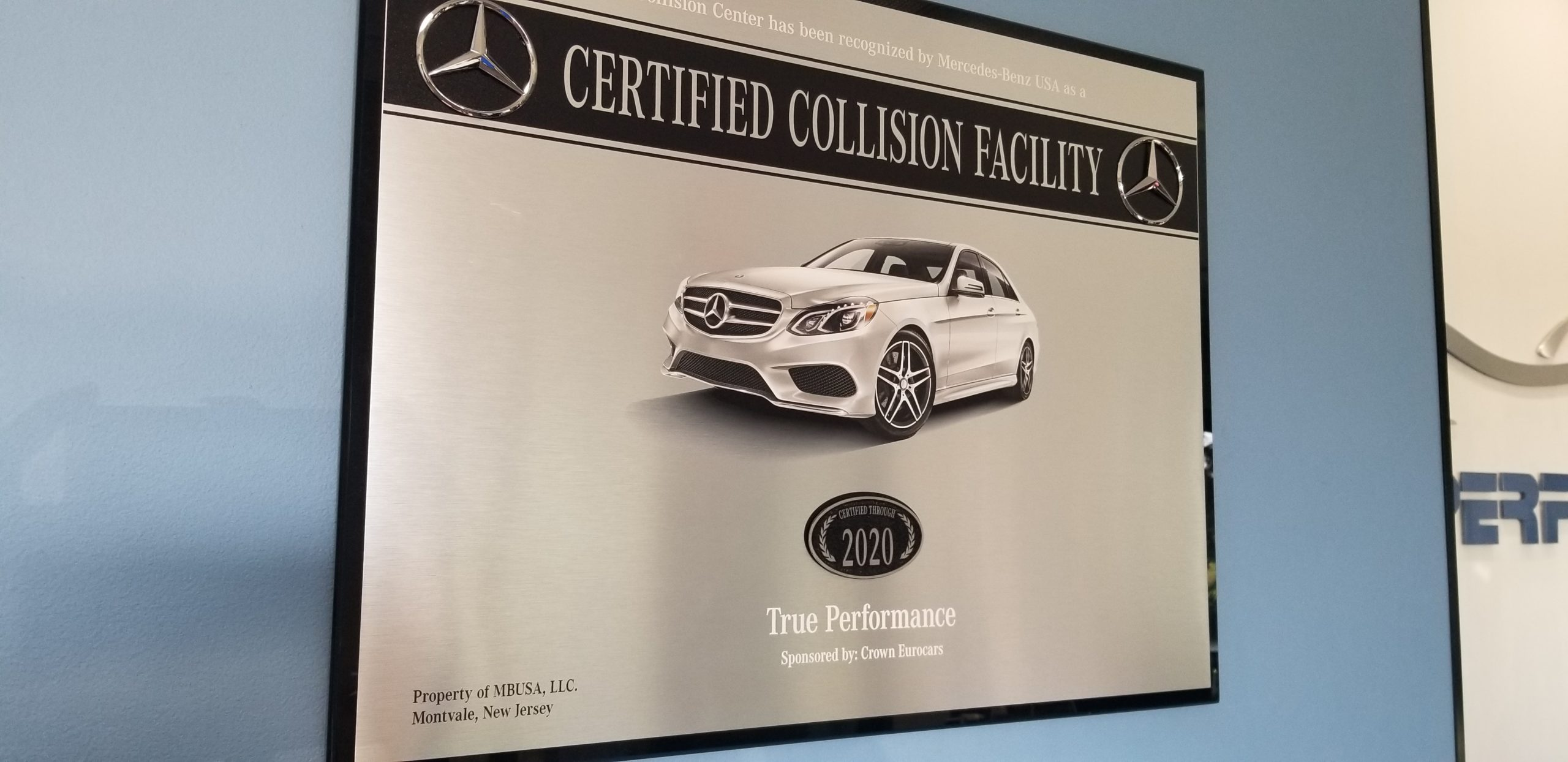 Mercedes Benz Collision Center
